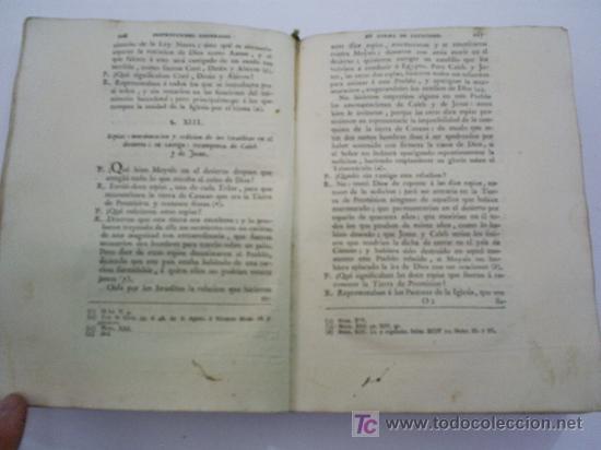Libros antiguos: Instrucciones Generales en forma de Catecismo Tomo I FRANCISCO AMADO POUGET Año 1785 RM39509-V - Foto 5 - 26783954