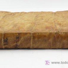 Libros antiguos: FLOS SANCTORUM, Y HISTORIA GENERAL EN QUE SE ESCRIVE LA VIDA DE LA VIRGEN. AÑO 1724.ALONSO VILLEGAS. Lote 27151051