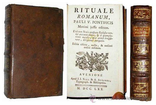 Matrimonio Rituale Romano : Ritual romano con exorcismo rara lam comprar