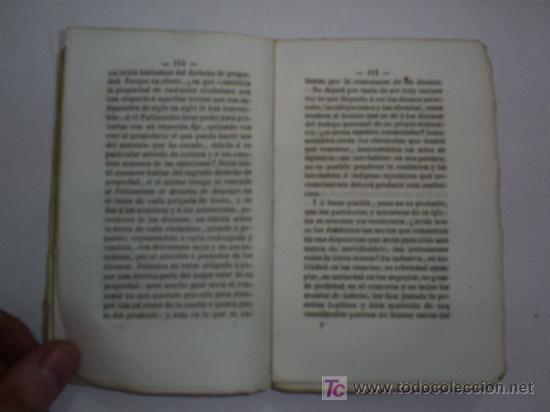 Libros antiguos: Nuevas Cartas de William Cobbett á los Ministros de la Iglesia de Inglaterra é Irlanda 1850 RM43198 - Foto 4 - 22329836