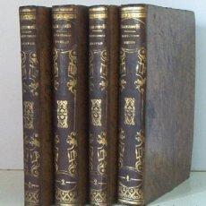 Libros antiguos: DIRECTORIO MISTICO DEL PADRE JUAN BAUTISTA SCARAMELLI DE LA COMPAÑIA DE JESUS - 4 TOMOS - AÑO 1853. Lote 44464775
