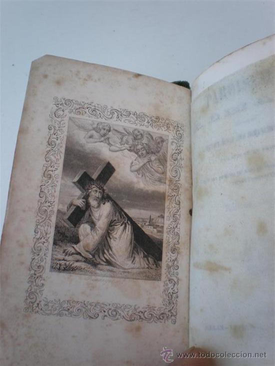 Libros antiguos: misal antiguo frances - Foto 4 - 21463564