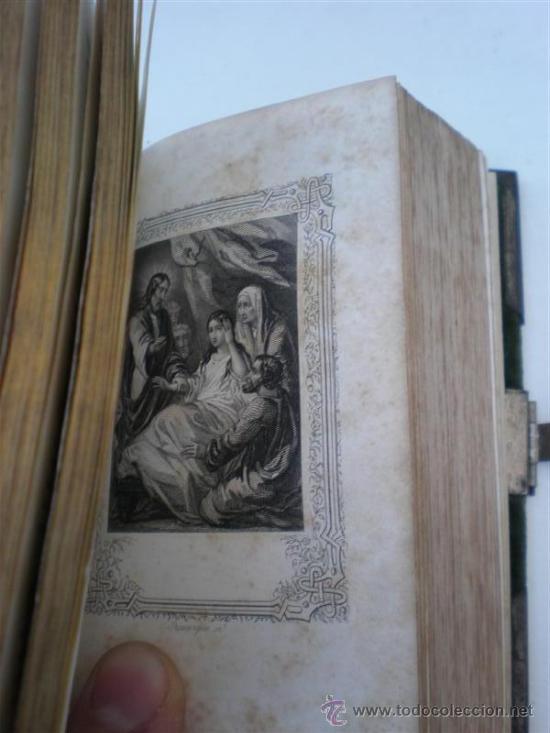 Libros antiguos: misal antiguo frances - Foto 6 - 21463564