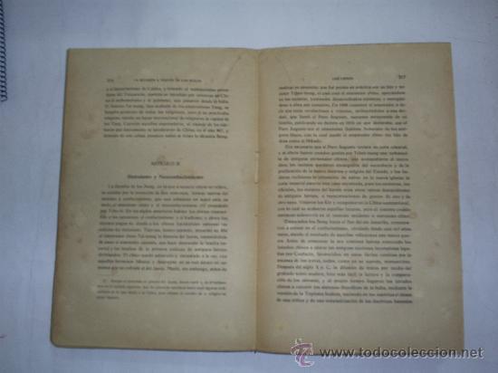 Libros antiguos: La religión a través de los siglos Estudio histórico comparativo de las religiones Tomo Tercero 1920 - Foto 4 - 22142092