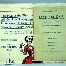 Libros antiguos: MAGDALENA TEATRO RELIGIOSO INFANTIL ISABEL CHEIX MARTÍNEZ TIPOGRAFÍA AGAPITO LÓPEZ SEVILLA 1903. Lote 22509484