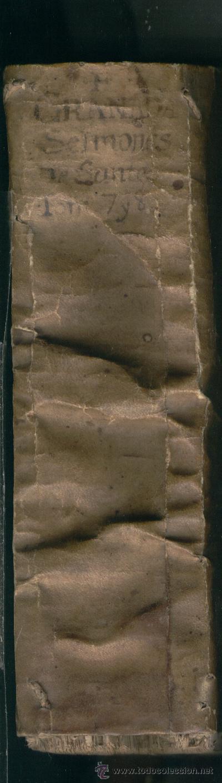 Libros antiguos: LIBRO ANTIGUO SALAMANCA AÑO 1581 FRAY LUIS DE GRANDA QUAE DE PRAE CIPUIS SANCTORUM FESTIS REGALO - Foto 7 - 24526533
