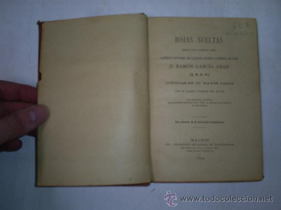Libros antiguos: Hojas Sueltas escritas por difunto señor Canónigo Santa Iglesia Catedral Lugo 1894 Galicia RM48368-V - Foto 2 - 27411098
