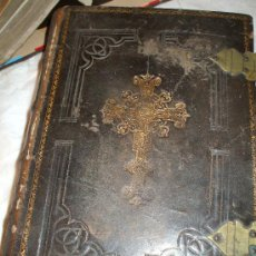 Libros antiguos: ANTIQUISIMO BREVIARIUM ROMANUM DE 1858. Lote 23283251