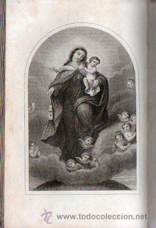 Libros antiguos: LUZ DIVINA. DEVOCIONARIO COMPLETO AÑO 1865 - Foto 7 - 25382835