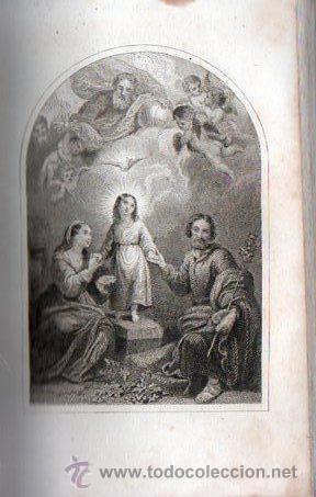 Libros antiguos: LUZ DIVINA. DEVOCIONARIO COMPLETO AÑO 1865 - Foto 6 - 25382835