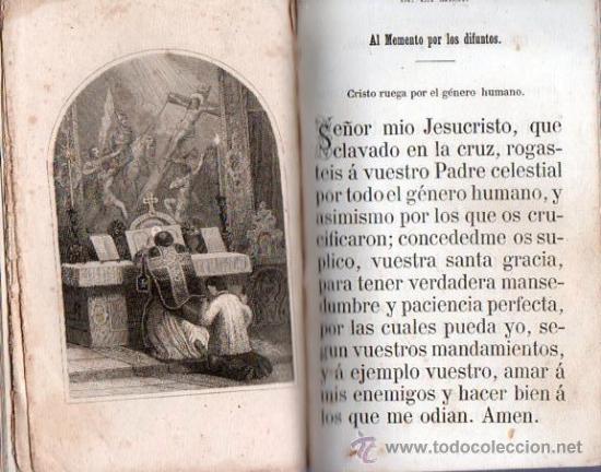 Libros antiguos: LUZ DIVINA. DEVOCIONARIO COMPLETO AÑO 1865 - Foto 5 - 25382835