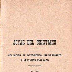 Libros antiguos: IMITACION DE CRISTO POR JUAN EUSEBIO NIEREMBERG - MADRID 1901. Lote 26231019