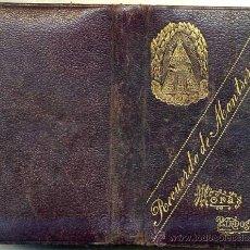 Libros antiguos: HORAS PIADOSAS - DEVOCIONARIO RECUERDO DE MONTSERRAT (C. 1900) . Lote 26275933