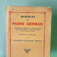 Libros antiguos: LIBRO, HISTORIAS DEL PADRE GERMAN, MAUCCI, 1907. Lote 26664364