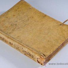 Libros antiguos: LIBRO EN PERGAMINO, LA ARMONIA DEL PARNAS, D.VICENTE GARCIA (RECTOR DE VALLFOGONA), AÑO 1700. Lote 26725202