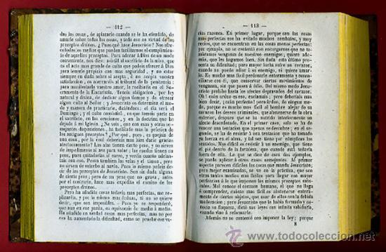 Libros antiguos: LIBROS 2 TOMOS, RESPUESTAS POPULARES A LAS OBJECIONES COMUNES CONTRA LA RELIGION,1871 ,ORIGINALES - Foto 6 - 26980457