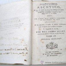 Libros antiguos: DIRECTORIO AESCETICO, DEL PADRE JUAN BAUTISTA SCARAMELLI, DE LA COMPANIA DE JESUS, TOMO III, 1795. Lote 27196770