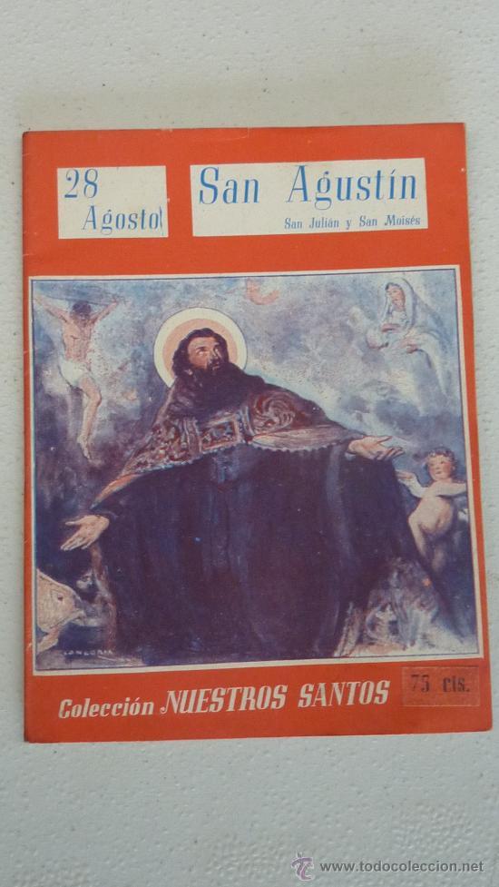 Libros antiguos: Coleccion de 12 nuestros santos. Cada uno dedicado a un santo distinto. - Foto 2 - 27494151