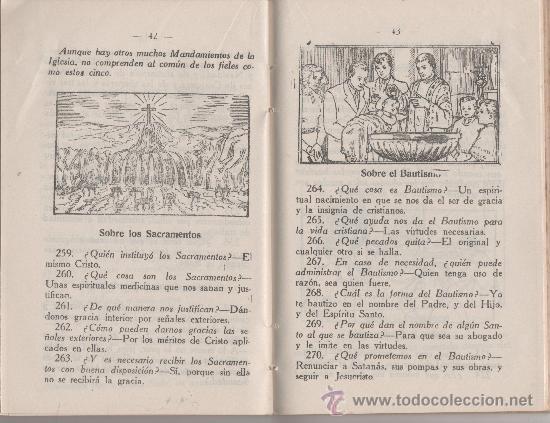 Libros antiguos: CATECISMO DE LA DOCTRINA CRISTIANA EDICIONES BRUÑO - Foto 2 - 27503267