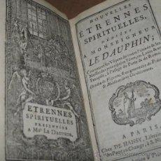 Libros antiguos: ETRENNES SPIRITUELLES, 1778. CONTIENE 25 GRABADOS.. Lote 27674011