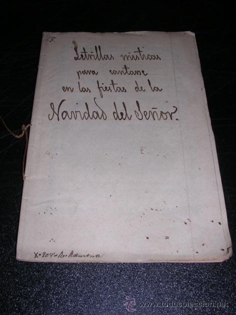Libros antiguos: LETRILLAS MISTICAS PARA CANTARSE EN LAS FIESTAS DE LA NAVIDAD DEL SEÑOR,BARCELONA 1820 IMP. DE IFERN - Foto 2 - 27869172