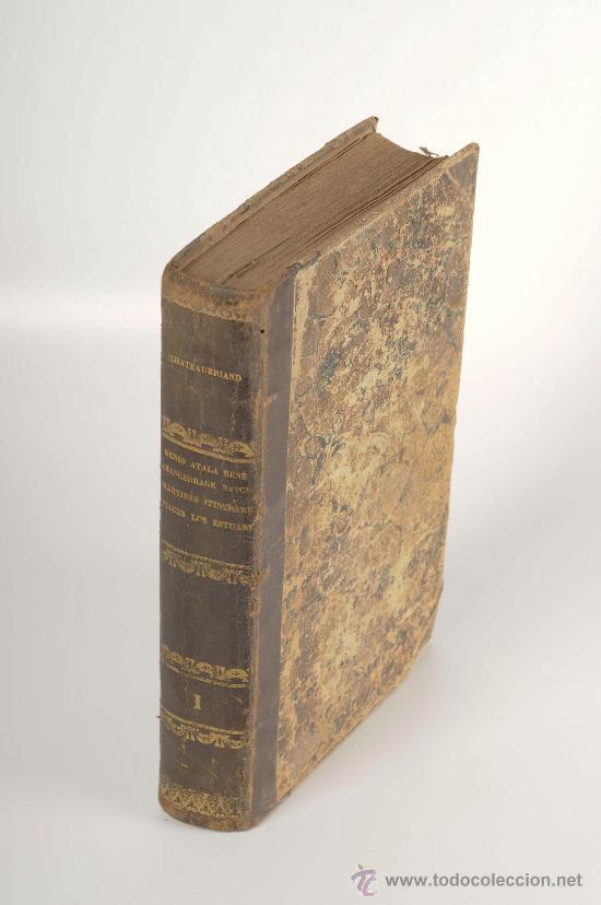 EL GENIO DEL CRISTIANISMO, POR EL VIZCONDE DE CHATEAUBRIAND, MADRID GASPAR Y ROIG EDITORES, AÑO 1853 (Libros Antiguos, Raros y Curiosos - Religión)