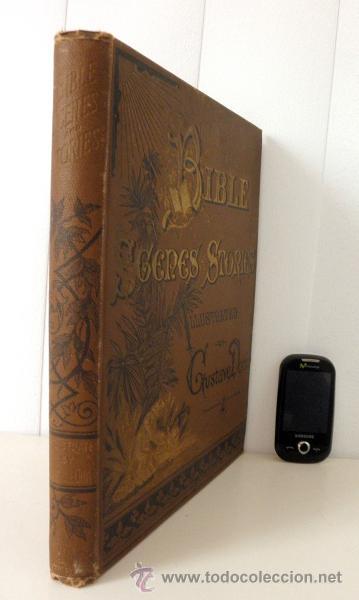 Libros antiguos: 1883 BIBLIA ILUSTRACIONES DE GUSTAVE DORE ESCENAS E HISTORIA PARA LOS JOVENES - Foto 2 - 28369599