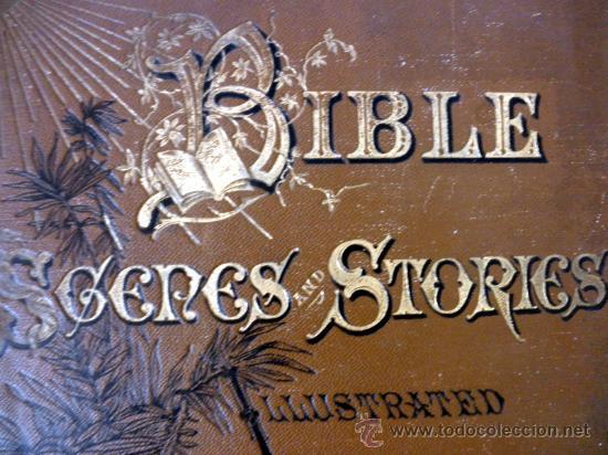 Libros antiguos: 1883 BIBLIA ILUSTRACIONES DE GUSTAVE DORE ESCENAS E HISTORIA PARA LOS JOVENES - Foto 4 - 28369599