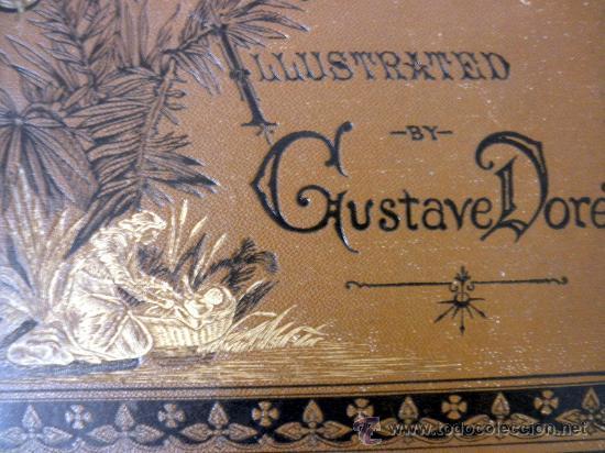 Libros antiguos: 1883 BIBLIA ILUSTRACIONES DE GUSTAVE DORE ESCENAS E HISTORIA PARA LOS JOVENES - Foto 5 - 28369599