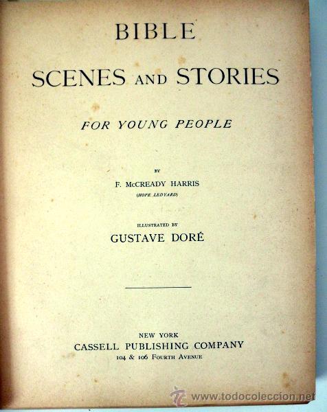 Libros antiguos: 1883 BIBLIA ILUSTRACIONES DE GUSTAVE DORE ESCENAS E HISTORIA PARA LOS JOVENES - Foto 6 - 28369599