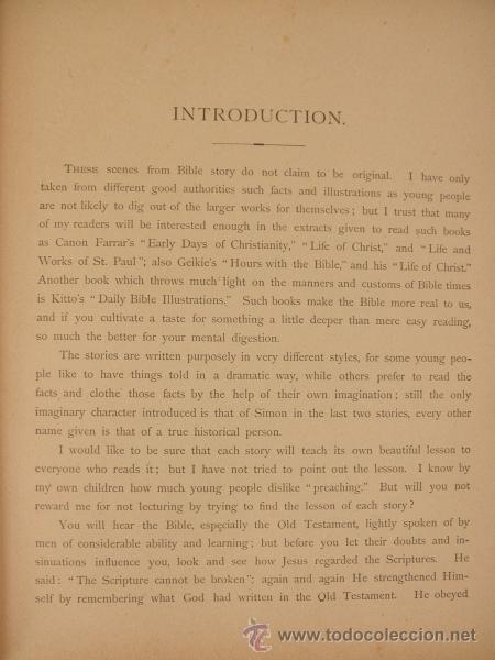 Libros antiguos: 1883 BIBLIA ILUSTRACIONES DE GUSTAVE DORE ESCENAS E HISTORIA PARA LOS JOVENES - Foto 8 - 28369599