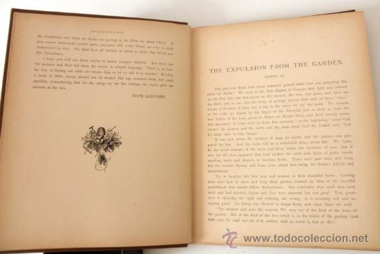 Libros antiguos: 1883 BIBLIA ILUSTRACIONES DE GUSTAVE DORE ESCENAS E HISTORIA PARA LOS JOVENES - Foto 9 - 28369599
