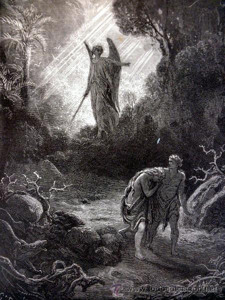 Libros antiguos: 1883 BIBLIA ILUSTRACIONES DE GUSTAVE DORE ESCENAS E HISTORIA PARA LOS JOVENES - Foto 10 - 28369599