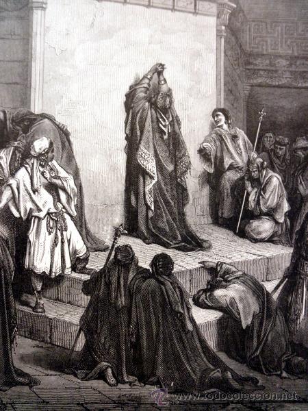 Libros antiguos: 1883 BIBLIA ILUSTRACIONES DE GUSTAVE DORE ESCENAS E HISTORIA PARA LOS JOVENES - Foto 22 - 28369599