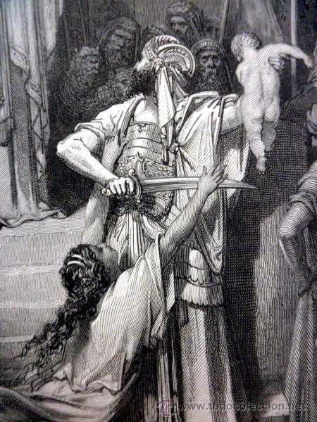 Libros antiguos: 1883 BIBLIA ILUSTRACIONES DE GUSTAVE DORE ESCENAS E HISTORIA PARA LOS JOVENES - Foto 25 - 28369599