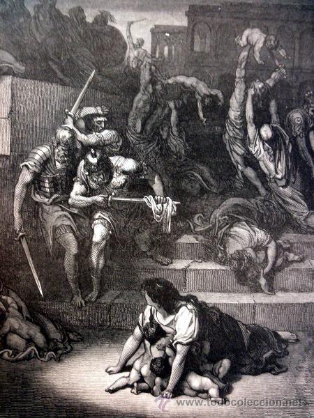 Libros antiguos: 1883 BIBLIA ILUSTRACIONES DE GUSTAVE DORE ESCENAS E HISTORIA PARA LOS JOVENES - Foto 28 - 28369599