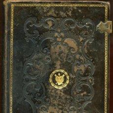 Libros antiguos: OFFICIA PROPRIA SANCTORUM - AÑO 1879 - CON CIERRES METALICOS. Lote 28703056