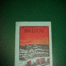 Libros antiguos: SANTO EVANGELIO SEGÚN SAN LUCAS, EL. Lote 28981440