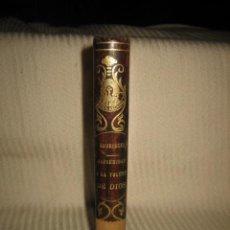 Libros antiguos: TRATADO DE LA CONFORMIDAD CON LA VOLUNTAD DE DIOS SEGUIDO DEL TESORO DE PACIENCIA 1881. Lote 33516427