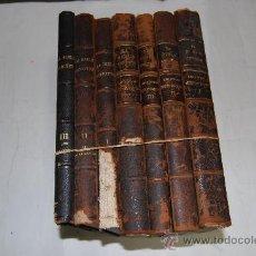 Libros antiguos: LA BIBLE ANNOTÉE PAR UNE SOCIÉTÉ DE THÉOLOGIENS ET DE PASTEURS. ANCIEN TESTAMENT. 7 TOMOS RM55079. Lote 29176226