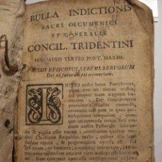 Alte Bücher - EXCELENTE Y RARO LIBRO AÑO 1563 - CONCILIO DE TRENTO - CONCILLI TRIDENTINI - 406 PAGINAS - 29279697