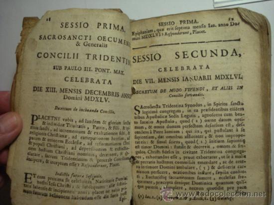 Libros antiguos: EXCELENTE Y RARO LIBRO AÑO 1563 - CONCILIO DE TRENTO - CONCILLI TRIDENTINI - 406 PAGINAS - Foto 4 - 29279697