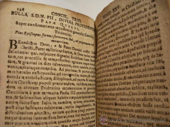 Libros antiguos: EXCELENTE Y RARO LIBRO AÑO 1563 - CONCILIO DE TRENTO - CONCILLI TRIDENTINI - 406 PAGINAS - Foto 11 - 29279697