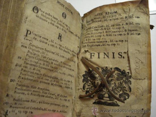 Libros antiguos: EXCELENTE Y RARO LIBRO AÑO 1563 - CONCILIO DE TRENTO - CONCILLI TRIDENTINI - 406 PAGINAS - Foto 12 - 29279697