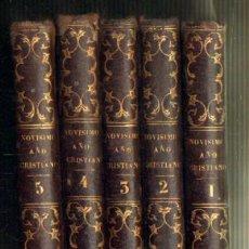 Libros antiguos: DOMINICA DE NOVISIMO AÑO CRISTIANO. 5 TOMOS. COMPLETO (A-RE-674). Lote 29285425
