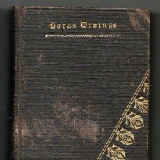 Alte Bücher - 1864 - NUEVAS HORAS DIVINAS - DEVOCIONARIO - 29286545
