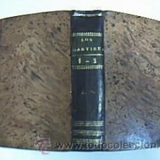 Old books - LOS MÁRTIRES Ó EL TRIUNFO DE LA RELIGIÓN CRISTIANA. CHATEAUBRIAND. 2 tomos en 1 volumen, 1847 - 29777129