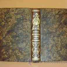 Libros antiguos: TRATADO DE LAS NOTAS DE LA IGLESIA... AUBERT, MARIO. LIBRERÍA RELIGIOSA TOMO XX. AGOSTO DE 1850.. Lote 29501136