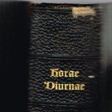 Libros antiguos: HORAE DIURNAE - BREVIARII ROMANI - 1902. Lote 74232723