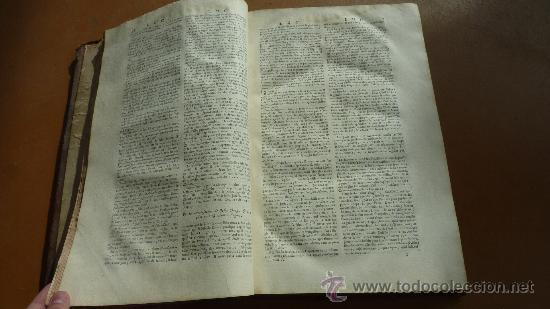 Libros antiguos: libro El gran diccionario de la Biblia. 1740. En frances. - Foto 12 - 30482284